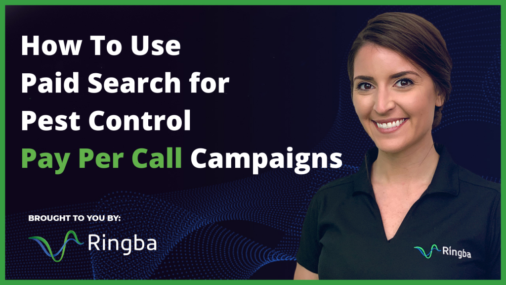 How To Use Paid Search for Pest Control Pay Per Call Campaigns