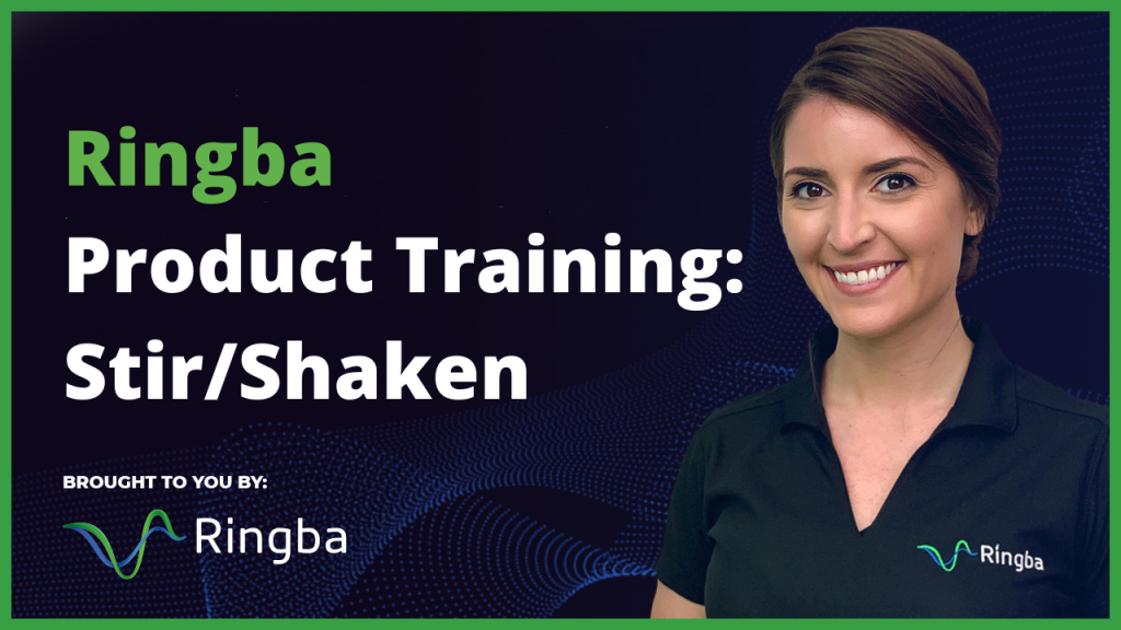 Ringba Product Training: Stir/Shaken