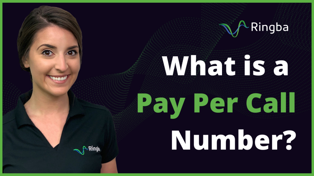 What is a Pay Per Call Number?